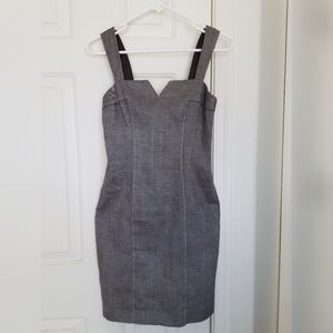 Bebe brown tank dress, Size 4